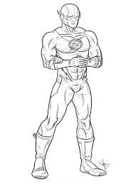 Dc Comics Flash Coloring Pages For Boys 9