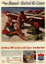 United Air Lines Hawaii By