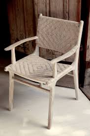 Bali Dining Chairs White Rattan Haveli Of Byron