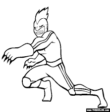 Superheroes Online Coloring Pages