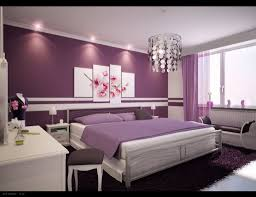 lila schlafzimmer ideen macht romantische nuance home