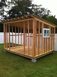 How To Build A Wooden Shed Ramp by How To Build A Storage Shed For More Free Shed Plans Here Is A