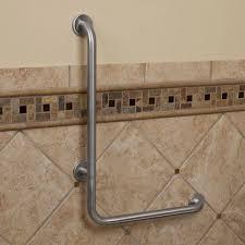 pickens l shape grab bar bathroom