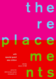Swissted The Replacements With Alex Chilton Poster