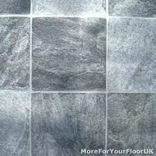 Linoleum Tile Flooring Exotic Stone Floor Grey Bathroom