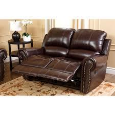 Sams Leather Sofa Recliner by Abbyson Lexington Dark Burgundy Italian Leather Reclining Loveseat