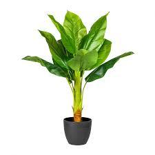 künstliche bananenpflanze ca 70cm grün bananenbaum im