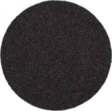 filzkugel teppich rund 180 cm myfelt hugo