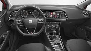 dimensions seat 5p 2017 coffre et intérieur