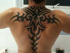 Big Celtic Tattoo On Back For Guys Photo