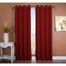 Light Blocking Curtain Liner Fabric by Blackout Tacoma Double Polyester Blackout Curtain 50in Wx63in