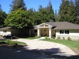 Los Altos Hills Ranch House Remodel Contemporary Exterior