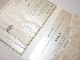 Wallet Wedding Invitations Pocket Glamorous