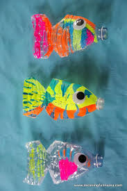 Art N Craft With Plastic Bottles Water Bottle Fish 1 3
