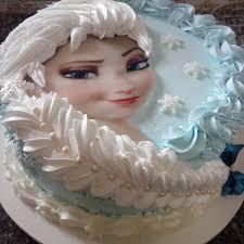 Frozen Elsa Face Cake Makes Elsa s face Elsa face edible image