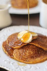 Vegan Bisquick Pumpkin Pancakes by Vegan Banana Pumpkin Pancakes The Whole Serving