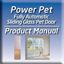 Petsafe Freedom Patio Panel Pet Door 96 by Low E Glass Dual Pane Sliding Glass Patio Pet Door Insert