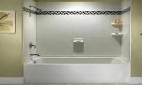 glass tile tub surround ideas bathtub surround ideas travertine