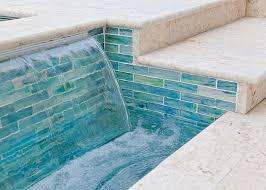 onyx 2 x 2 mosaic tiles by zen paradise inc pool