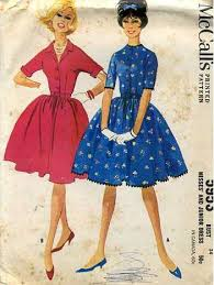 Vintage 50s Dress Patterns And Instructions