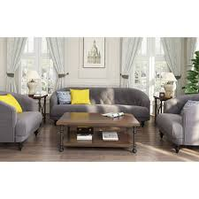Gray Sectional Sofa Walmart by Tufted Memory Foam Accent Chair Walmart Com