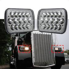 Crystal Clear 5x7 7x6 LED Headlight H6014/6052/6054 High/Low Beam ... Stedi 7 Inch Carbon Led Headlight Motorbike Truck Jeep Wrangler Crystal Clear 5x7 7x6 H1426054 Highlow Beam 19992018 F150 Diode Dynamics Fog Lights Fgled34h10 Led Around Headlights For Trucks Lllspg9006 9006 Headlight Bulbs With Blue Glow Light Lifetime Alburque Accsories Unlimited Inch Led Truck 6x7 Oracle 1416 Chevrolet Silverado Wpro Halo Rings Bulbs Boise Car Audio Stereo Installation Diesel And Gas Performance Automotive Bars Strips Halos Custom Light Kits