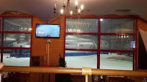 vu d intérieur vers les pistes de ski picture of le chalet