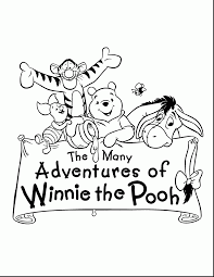Disney Halloween Coloring Pages by Good Cute Winnie The Pooh And Tigger Drawings With Tigger Coloring