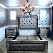 Mirrored Bedroom Furniture Sets for Elegant and Luxury Designs
