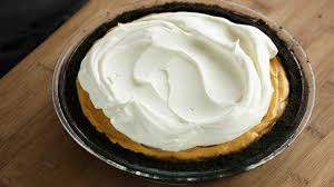Pumpkin Chiffon Pie With Cool Whip by Icebox Pumpkin Mousse Pie
