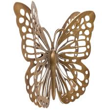 Hobby Lobby Wall Decor Metal by Gold Metal Butterfly Wall Decor Hobby Lobby 1134873