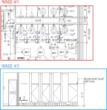 Bathroom Stall Dividers Dimensions by Revitcity Com Restroom Stall Visbility