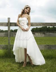 You Will See Some Fabulous Chiffon Wedding Dresses From MyBridalDress Destination Dress Collection Like Vogue High Low