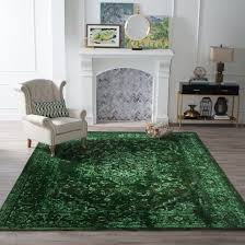 emerald green vintage rug emeralds grüne