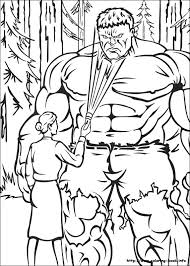 Ideas Collection Hulk Coloring Pages To Print With Letter