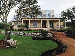 Dublin Hill Rustic Country Home Has A Custom Feel From Houseplansandmore Plantation Style HomesSmall