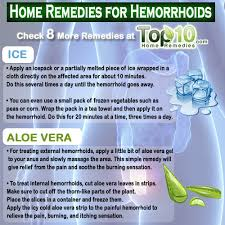 Home Reme s for Hemorrhoids Piles