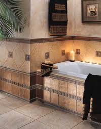Rustic Bathtub Tile Surround by Vintage Bathroom Floor Tile Ideas For Small Bathroom Floor Plans