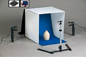 Amazon PBL PHOTO LIGHT TENT NEW 16 Inch LIGHT TENT KIT
