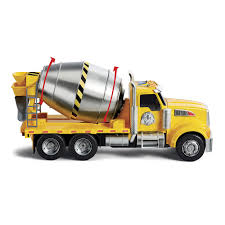 Fast Lane Light & Sound Cement Truck - Fast Lane - Toys