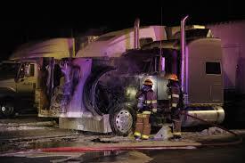 100 Norfolk Truck Semi Catches Fire At Truck Stop News Norfolkdailynewscom