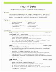 Career Change Resume Sample Valid Objective Examples