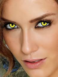 Prescription Contact Lenses Halloween Australia by Gothika Angelic Yellow Fx Contact Lenses Contacts I Totally Want