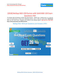 NetApp NS0-159 Exam Questions - 20% Discount On New Year ... 20 Off The Jewish Museum Coupons Promo Discount Codes Promo Code Diesel Shop Online Canada Free Shipping Revolve Clothing Coupon 2018 Hawaiian Rolls Xdp Xdpdiesel Amazing Photos Videos For Idea And Laundry Detergent Cole Haan Uk By Photo Congress Rough Country Discount Codes 2017 Jersey Russell Throwback Wilson Mismanage Genos Garage Inc Ebay Bbb Xdp Swing Set Gym Kits