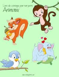 Dessin De Tout Les Animaux Du Monde Fantastique Image Coloriage Des