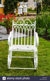 Single Old Fashioned Ornate White Wrought Iron Garden ... Agha Rocking Chair Outdoor Interiors Magnificent Wrought Iron Chairs Vintage Garden Table Black Leather Chaise Lounge Modern Fniture Living Wood And Amazonin Home Kitchen Victorian Peacock Lawn Patio Set Best Images About On 15 Collection Of 4 French Folding Metal Teak Seat Bistro Amazoncom Bs Antique Bronze Scoll Ornate Cast In Worsbrough South Yorkshire Gumtree Surprising Bedroom House Winsome