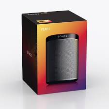 Sonance Ceiling Speakers Australia by Sonos Play 1 Black Wireless Speaker Play1us1blk Abt