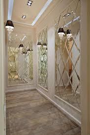 spiegelwand luxuriöse wandgestaltung spiegel inspiration