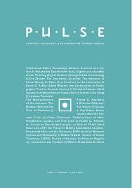 Pulse A History Sociology & Philosophy of Science Journal Issue