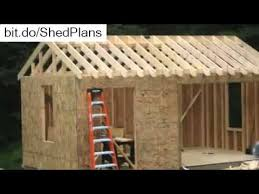 10 top 10x10 storage shed plans build storage sheds tutorial youtube